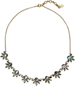 Set Stone Collar Necklace