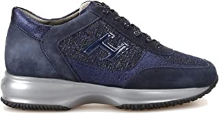 HOGAN Luxury Fashion Womens HXW00N0BH50LK8U805 Blue Sneakers | Fall Winter 19