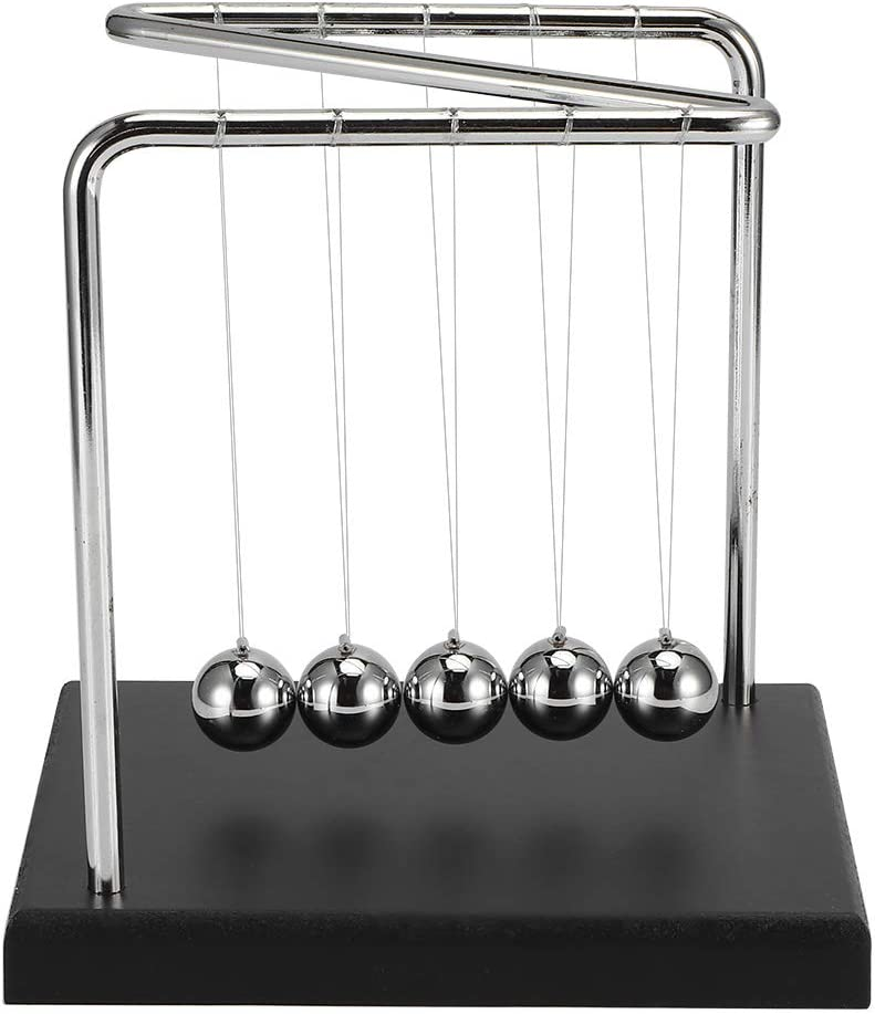 winshiden Gravity Pendulum Ball Toy Office Acce Fun Spring SALENEW very popular! new work one after another Desktop Game