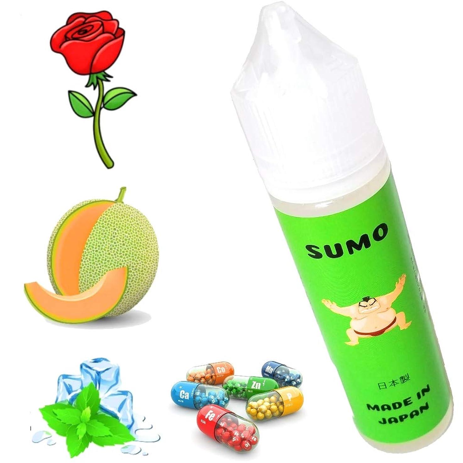 団結選択アンプ60ML 電子タバコ リキッド メロン ローズ メンソール マルチビタミン コラー ゲン SUMO 国産 美味しい (Melon Rose Menthol)