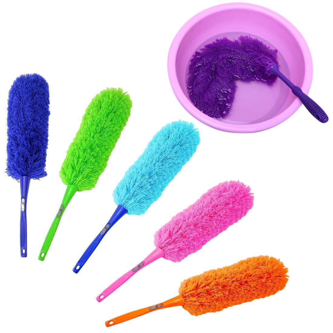 Limpia el polvo – 1 cepillo de microfibra suave para limpiar el ...