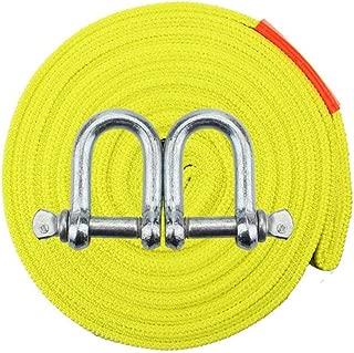 Protective Sleeves Emergenza Off Road 4X4 traino sacchetto libero di immagazzinaggio 3 x 20 arancia GearAmerica Recupero Cinghia di traino Forza triple rinforzate Loops