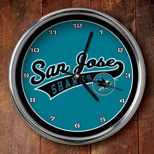 The Memory Company NHL San Jose Sharks Offizielle Chromuhr, Mehrfarbig, Einheitsgröße