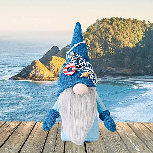B/Q Gnomes Plush Decorations, Faceless Doll Decorations Room Plush Rabbit Gnomes Home Decor Spring Ornaments Collectible Figurine Spring Gifts Nordic Swedish Tomte Dwarf (A)