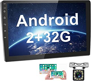 [2G+32G] Upgrade Hikity Double Din Android Car Stereo 10.1 Inch Touch Screen Radio Bluetooth WiFi GPS FM Radio Support And...