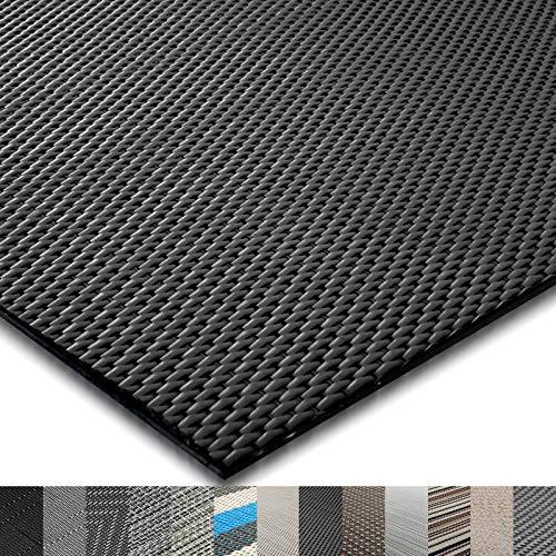 casa pura® Indoor- und Outdoor-Bodenbelag Padua | kunstvoll gewebter Terrassenteppich | als Outdoor Teppich Meterware oder Läufer für innen | 40 Größen (60x100cm)