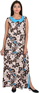 9teenAGAIN Floral Printed Hosiery Nursing Night Dress