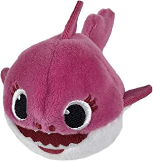 Pinkfong Baby Shark Mini Plush (Mommy Shark) - Fun Size Baby Shark Stuffed Beanie from Hit Song Official Baby Shark Stuffe...