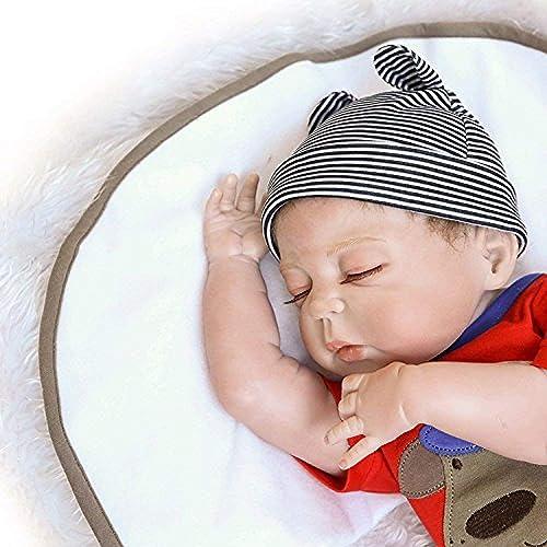 Rocking Horse Weißhe Silikonpuppe 23 \ lebensechte Wiedergeborene Babypuppen Weißhe Vollvinylpuppe Für Neugeborene Junge Freie Magnetschnullerattrappe