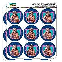 "WWE Ultimate Warrior Flex Planner カレンダー スクラップブック クラフトステッカー 18 2"" Stickers クリア SCRAP.CL.STICK02.WWEGAM01.Z005399_8"