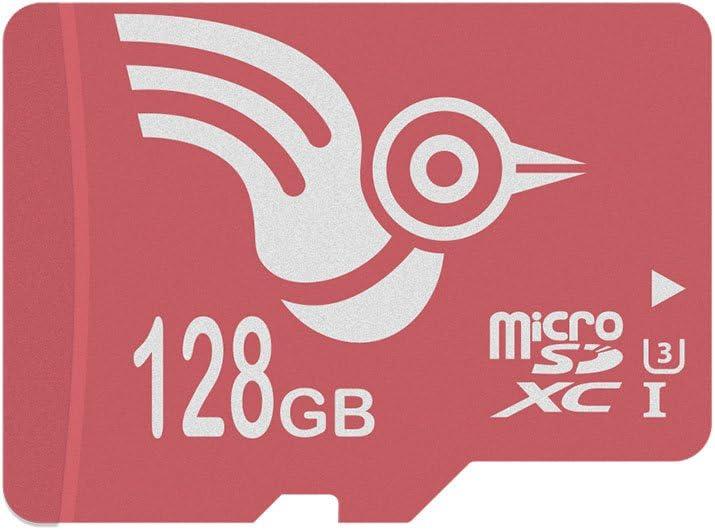 ADROITLARK 128GB Micro SD Card U3 Class 10 microSDXC Memory Card for Phone/Tablets with Free SD Adapter(U3 128GB)