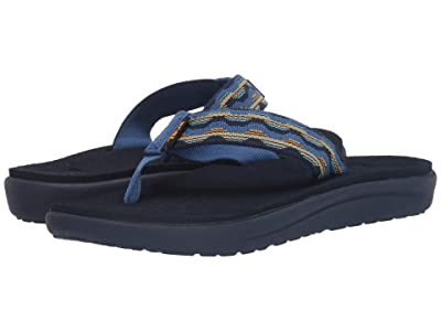 Teva Kids Voya Flip (Little Kid/Big Kid) (Kishi Dark Blue) Kid