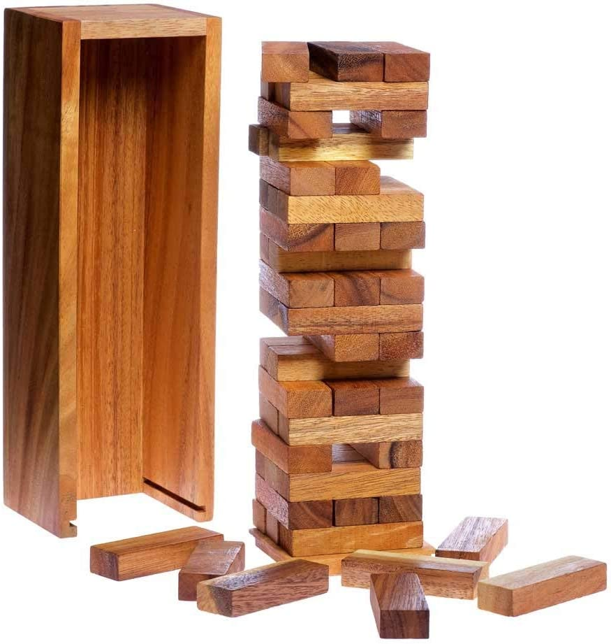 Woody's Tower Game 11.5 Int - Store Natural Thai Spring new work Handmade from Pine