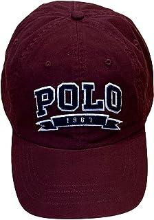 قبعة للرجال من Polo Ralph Lauren مصنوعة من القطن بنسبة 100% 710766515001 كستنائي (مقاس واحد)