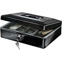 SentrySafe CB-12 Cash Box with Money Tray and Key Lock (0.21 cu Feet)