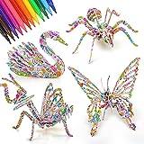 Regalos de cumpleaños para niños de 7 8 9 años edad, juguete para niñas 10 11 12 años edad manualidades de pintura para niñas niños de 7 8 9 años kits de arte para niños juguete para niños 5-12 años