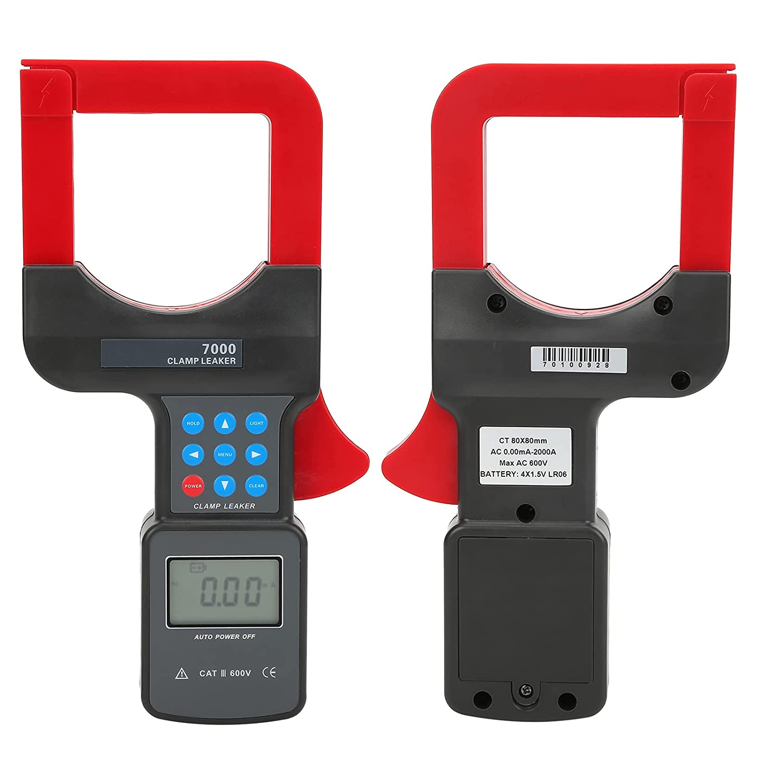 Leakage Clamp Meter Support Max 56% OFF Automatic Cla Charlotte Mall Shifting Gear Digital