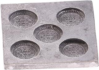 Fenteer 1/12 Miniaturas Molde de Galleta de Metal de Casa de Muñecas - Jugeute para Niños