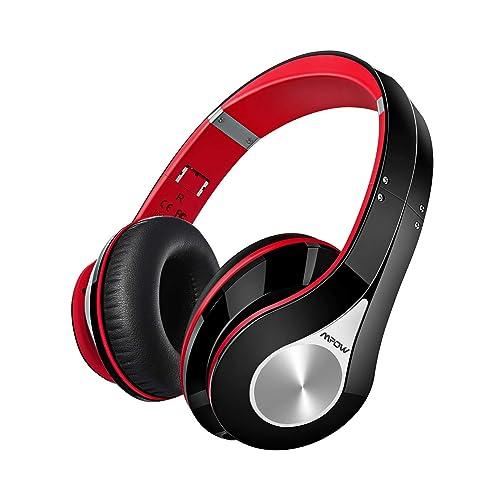 Casque Bluetooth sans Fil Bluetooth Casque Audio pour TV Micro Intégrée Écouteurs Stéréo CVC6.0 Bandeau Pliable Pochette Portable Bluetooth CSR Signal Stable Kit Main Libre 18 Mois Garantie