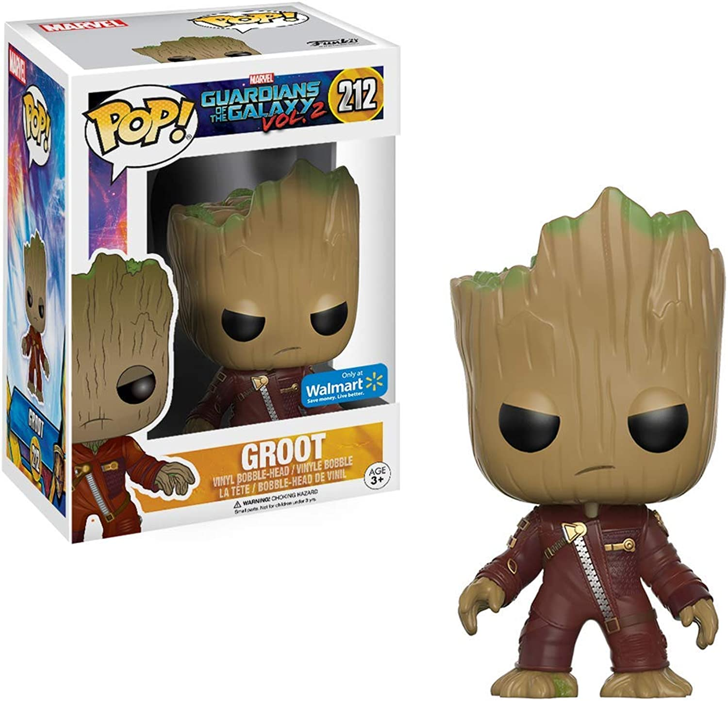 Funko  Figure Marvel Guardian Of The Galaxy Vol 2  Young Groot Ravager Pop