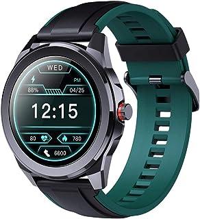 """Fitness Tracker inteligentny zegarek dla mężczyzn 3,5 cm (1,28"""") wodoodporny smartwatch z pulsometrem fitness tracker do A..."""
