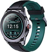 Fitness Tracker Smart Horloge voor Mannen 1.28 Inch IP68 Waterdichte Smartwatch met Hartslagmeter Fitness Tracker voor And...