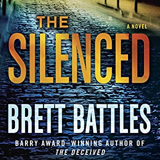 The Silenced     A Novel              Written by:                                                                                                                                 Brett Battles                               Narrated by:                                                                                                                                 Scott Brick                      Length: 10 hrs and 6 mins     1 rating     Overall 5.0