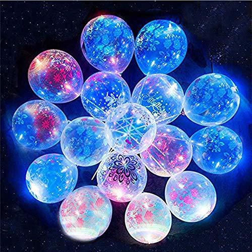 花風船LED風船バルーン 45 個パック ライトアップバルーン 12~24時間持続 暗闇で光る パーティー用品 プー...