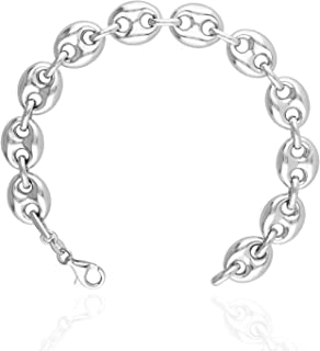 Best sterling silver puffed mariner chain Reviews