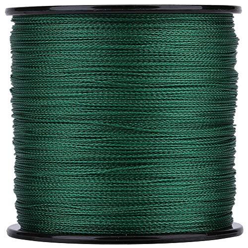 釣り糸 PEライン 高強度 高感度 低伸度 耐摩耗 頑丈 500M 4編 0.6号 1号 1.5号 2号 3号 4号 5号 6号 8号 グリーン(4-緑)