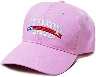 4e09ec598 Engmoo Keep America Great Hat Donald Trump President 2020 Slogan with USA Flag  Cap Adjustable Baseball