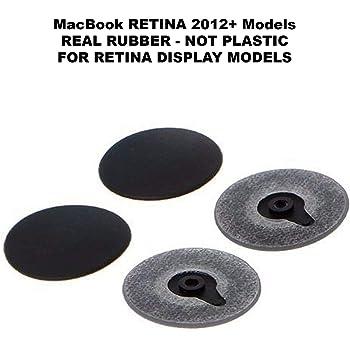"""Mac Pro 13/"""" 15/"""" Retina Bottom Plastic Rubber Feet A1398 A1425 A1502 ES"""