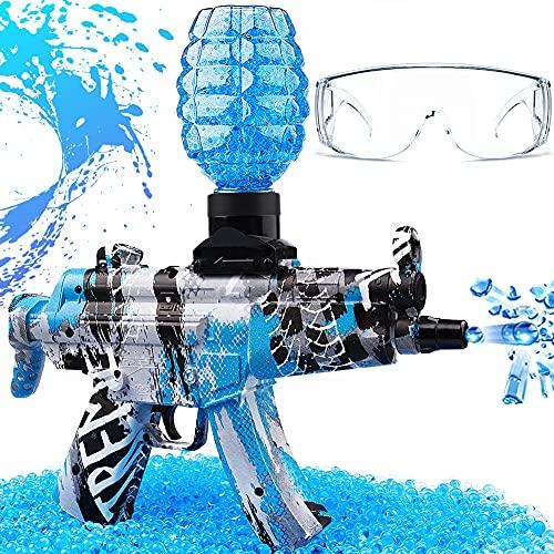 Gel Ball Blaster Toy, MP-5 Electric Gel Ball Blaster, Splatter Ball Gun, Gel Gun for Outdoor...