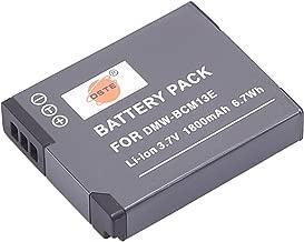 Batería para Panasonic Lumix DMC-FT5 DMC-LZ40 DMC-TS5 DMC-TZ37 Cámara 1050mAh