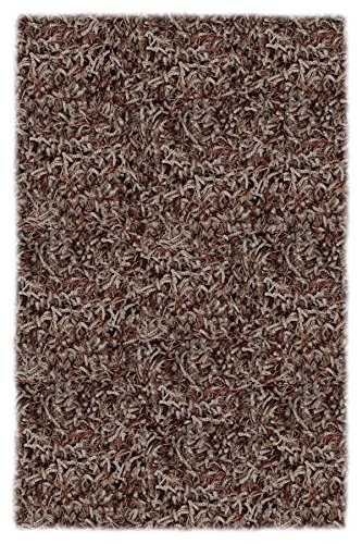 Shaw Super Shag Bling Collection Area Rug, Portabello, 120