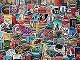 Lote de pegatinas, etiquetas hotel retro, vintage, viajes, travel, Acuerdo, maleta, aerolínea, doodle, equipaje, Calcomanía Decorativa (50)