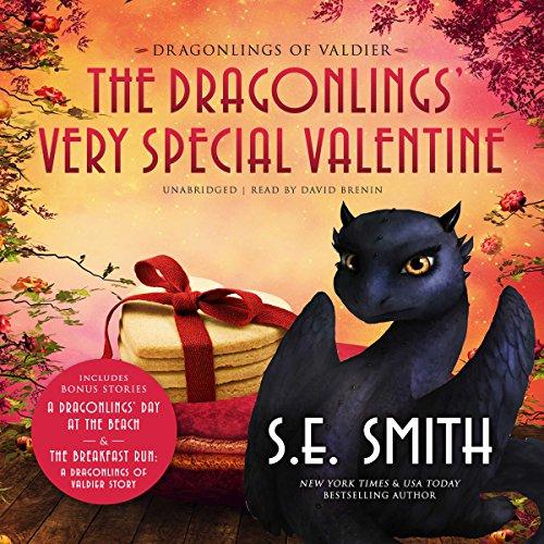 The Dragonlings' Very Special Valentine audiobook cover art