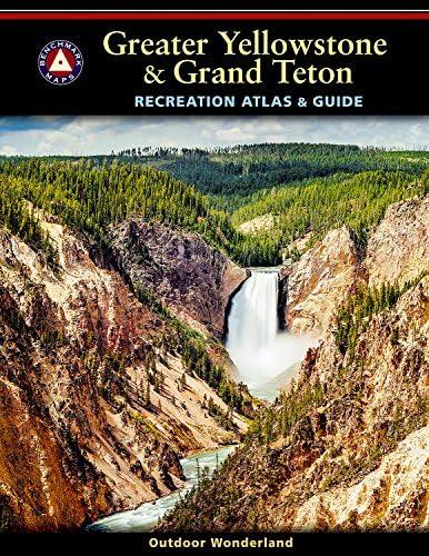 Greater Yellowstone Grand Teton Recreation Atlas Benchmark Recreation Atlases product image