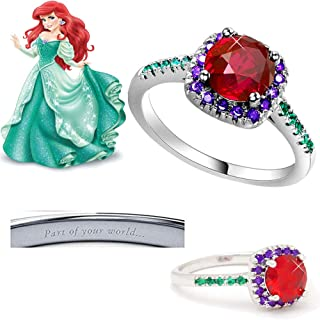 Best ariel inspired engagement ring Reviews