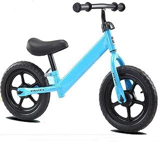 Balance para Niños De 2-6 Años, Andador, Scooter para Niños, Neumático De Bicicleta Sin Pedales,Azul