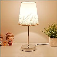 Bureaulamp Tafellamp kristal bedlampje nordic led bureaulamp voor slaapkamer woonkamer kamer boekenkast flaxen stof E27 EU...