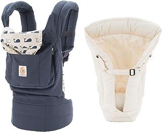 Ergobaby 原裝嬰兒背帶(海洋 + 天然襯墊,均碼)
