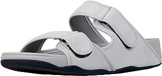 FitFlop Men's Adjustable Quick-Stick Straps Sandal