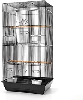 Bird Cage 88cm Parrot Pet Carrier Portable Canary Budgie Finch Perch i.Pet