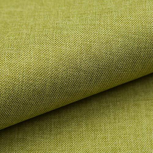 Teker Torino Polsterstoff Möbelstoff Meterware - z.B. Stoff für Stühle oder Eckbank Bezug - Hellgrün