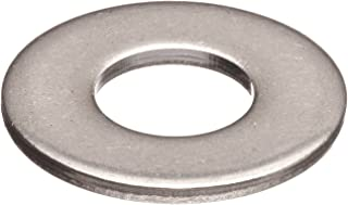 3//8 Hole Size Steel Flat Washer Nickel Plated Finish 0.156 Nominal Thickness Made in US 0.906 ID 1.750 OD