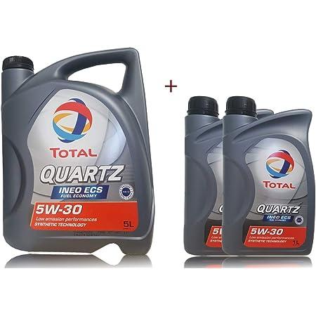 7 Liter MotorÖl Total Quartz Ineo Ecs 5w 30 Auto
