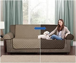 Mainstays Reversible Microfiber Fabric Pet/Furniture Sofa Cover 073161