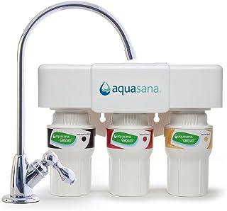 نظام ترشيح مياه تحت الحوض ذو 3 مراحل مع صنبور من اكواسانا