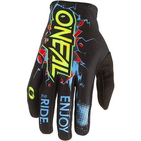 O Neal Matrix Villain Mx Dh Fr Handschuhe Schwarz Gelb 2020 Oneal Größe M 8 5 Auto